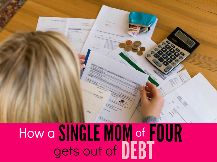 Here's an amazing story for Carrie Willard - How a Single Mom of Four Gets Out of Debt!