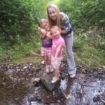 The girls and I took a nature walk through the infamous Coon Hunters Club.