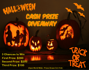 Fall Into Savings With These 3 Frugal Halloween Tips (Plus a Cash Giveaway)