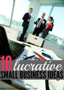 Have you caught the entrepreneurial bug? Here are ten lucrative (offline) small business ideas