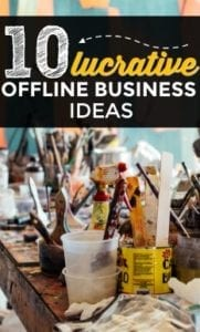 10+ Lucrative Offline Small Businesses