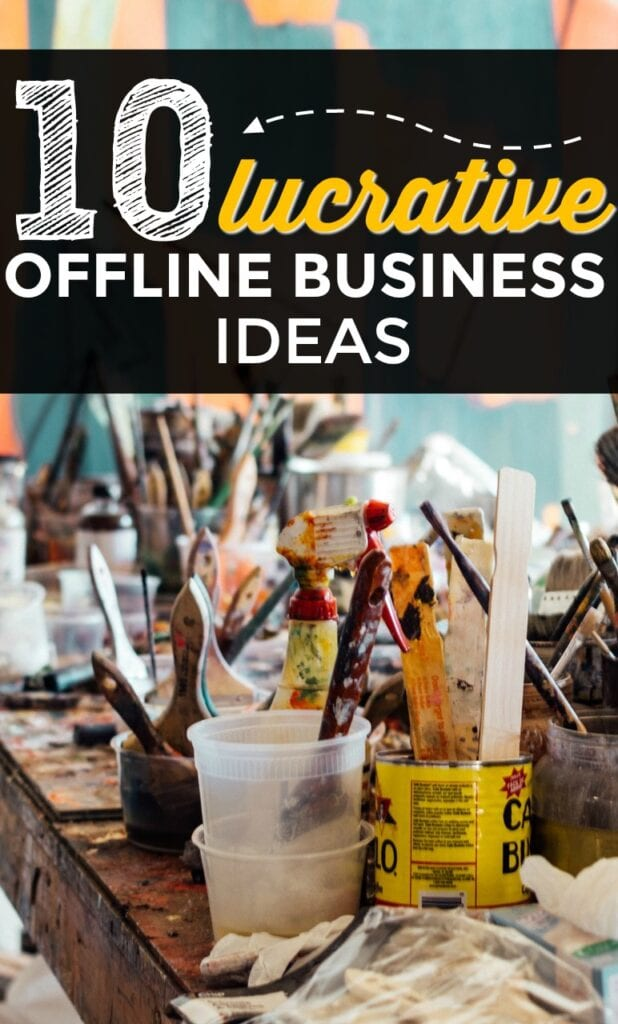 Have you caught the entrepreneurial bug and are wondering which small businesses to start? Here is a list of 10 lucrative offline businesses.