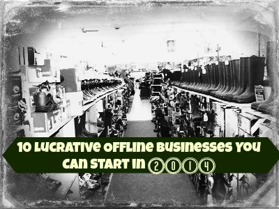 Lucrative Offline Small Businesses