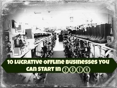 Lucrative Offline Small Businesses