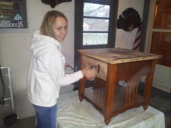 Refinish furniture you don't like