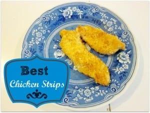 Easy Homemade Chicken Strips