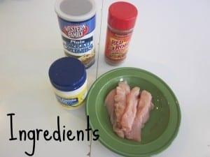 chicken strip recipe