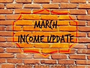 March Income Update