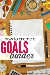 How (And Why) I Created a Goals Binder