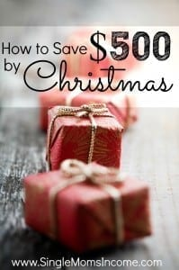 Christmas will be here before you know it! Instead of going into debt to buy gifts you should start saving now. Here's how you can save $500 by Christmas.
