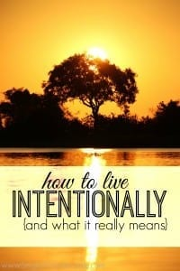 Do you want to live intentionally but don't know where to start? Here's what I've learned about spending your money and time in a purposeful way.