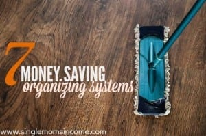money saving organizing systems