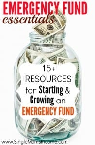 Are you working on your emergency fund? This post attempts to cover everything you've ever wanting to know about emergency funds! It includes why you should start one, how much money you should save, how to get more from your budget, and even where to store your emergency fund savings!