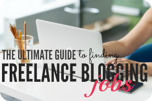 sidebar freelance blogging jobs