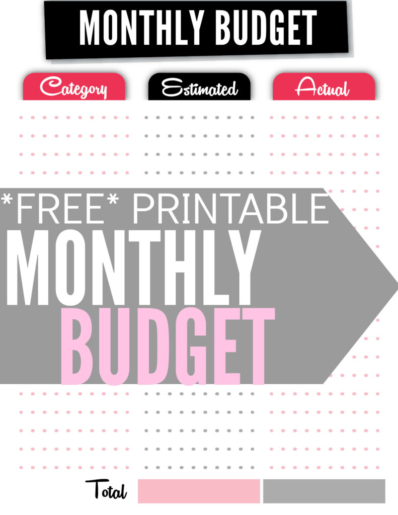 How to Create a Budget Plus Free Budget Worksheet Single Moms – Monthly Budget Worksheet