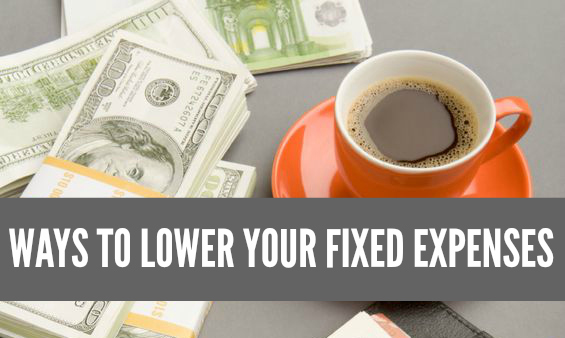 When you lower your recurring bills you free up room in your budget and reap the benefits all year long. Here are ways to lower your fixed expenses.