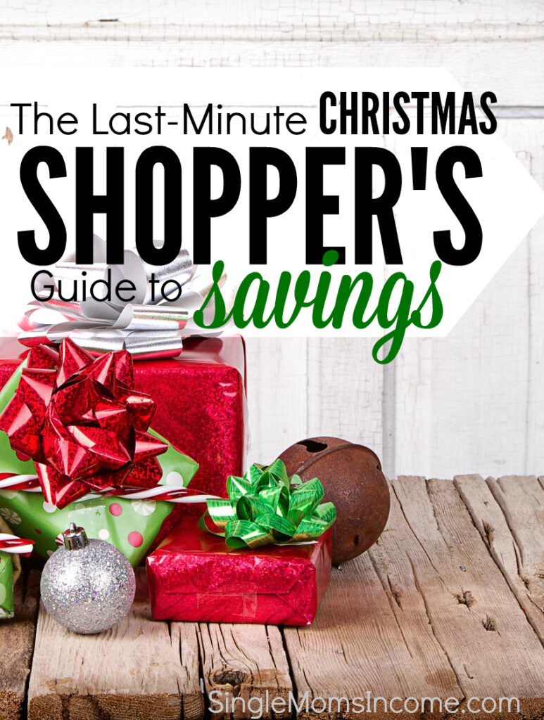 Are you like me with Christmas shopping STILL left to do even though we're only days away from Christmas? If so, check out my plan of attack for last-minute Christmas shopping!