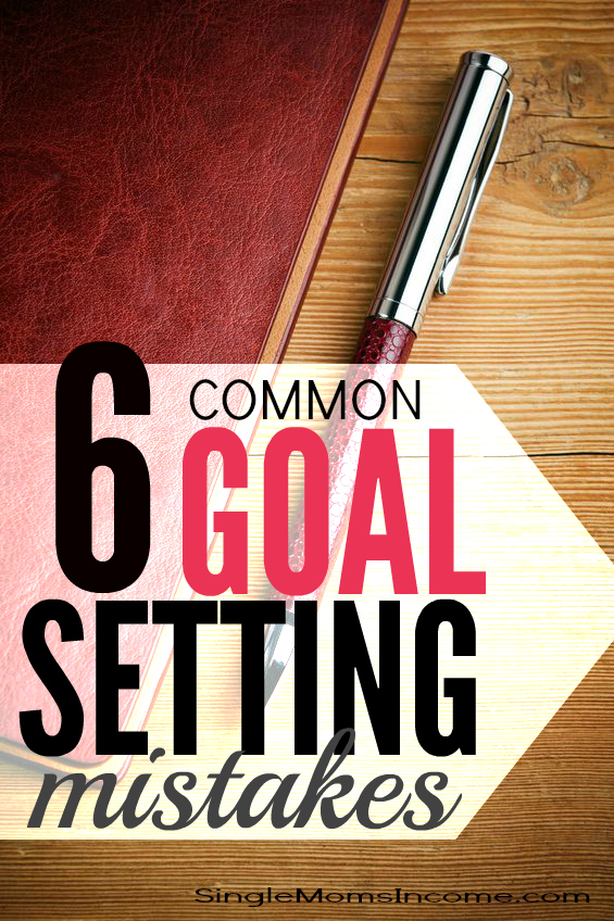 Are you ready to make your goals come to life this year? If so, you'll want to prepare yourself for these six common goal setting mistakes. If you know what you're up against you'll up your chances for success!