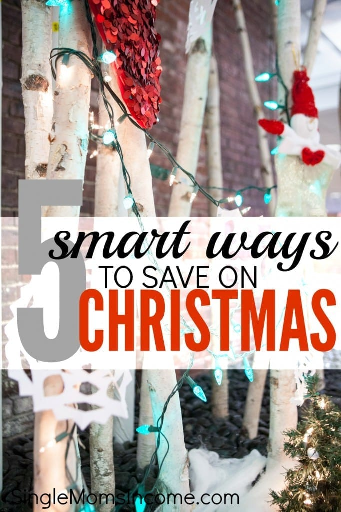 Don't break your budget over gifts! Instead, try these five smart ways to save on Christmas.