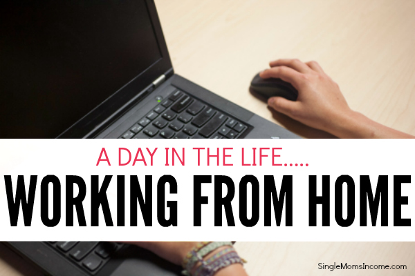 Ever wonder what a work from home day would be like? As a freelance writer, blog manager, and mom of two, here's how my typical work from home day goes.