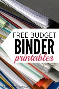 Looking for some free budget binder printables? These cute but functional financial worksheets will help you keep your financial life on track! The free sheets include financial goal setting, budget tracking, an expense tracker, and a weekly menu plan!