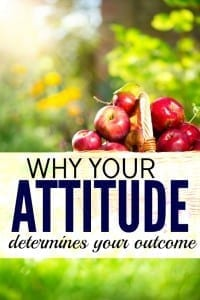 Feeling down on your luck, like you'll never be able to get ahead? If so, you need to change your attitude. Here's why having the right attitude is the most important success factor.