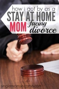 Wondering how a stay at home mom facing divorce can get by financially? Here's what it took for Megan to make that happen. It wasn't easy but it can be done!
