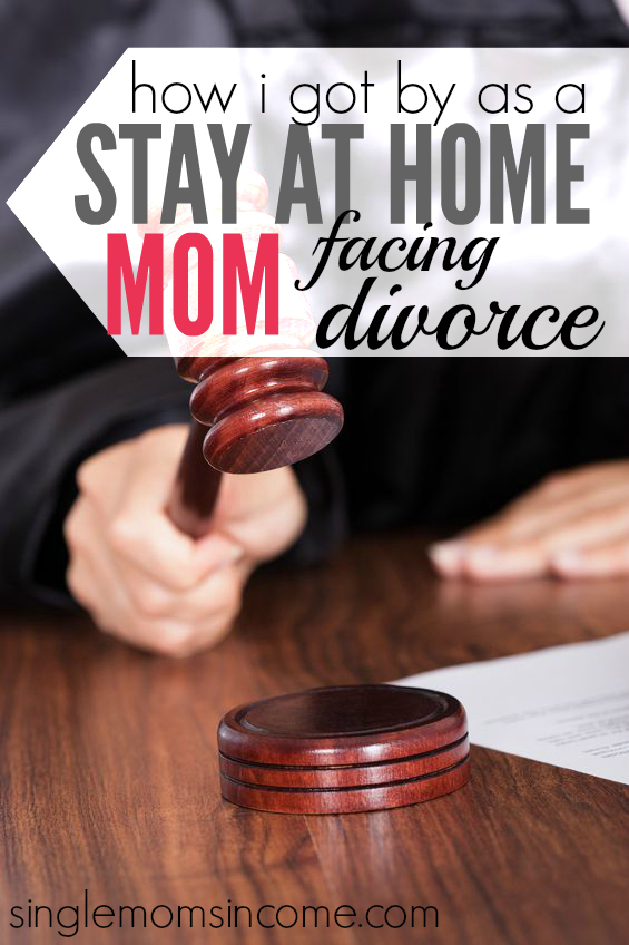 How I Got By as a Semi- Stay at Home Mom Facing Divorce