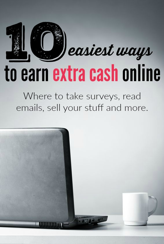 Looking to put a little extra cash in your pocket but don't want to be tied down to a day job? Here are the top ten easiest ways to make money online.