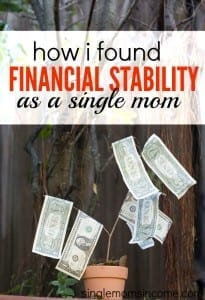 Finding financial stability as a single mom isn't easy but can be done. Here's Chonce's story of how she started thriving as a single mother.