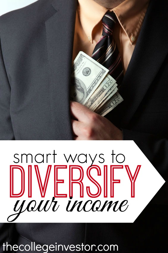 Six smart ways to diversify your income.