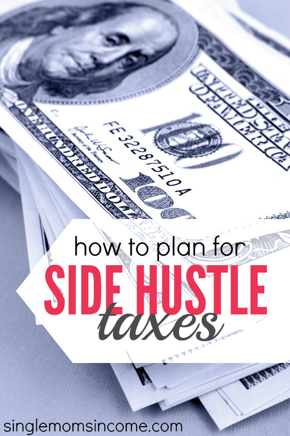 Do you have a side hustle or are thinking of becoming self-employed? Here's what you need to account for when planning taxes on side hustle income. (Probably a lot more than you think!)