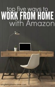 There are so many ways to earn an living online. If you want to get started with a reputable company here are the top five ways to work at home with Amazon.