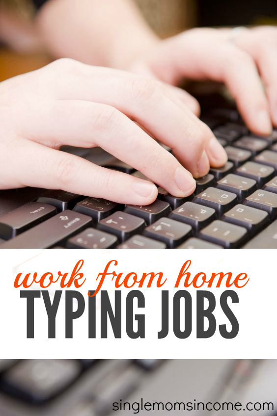 Looking for some work at home typing jobs? Here are six legit companies who may hire you! (Pay will vary.)