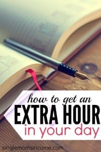 Do you ever find yourself wondering If I just had one more hour in the day, I'd be able to do XYZ? Here are some strategies to get back an extra hour in your day.