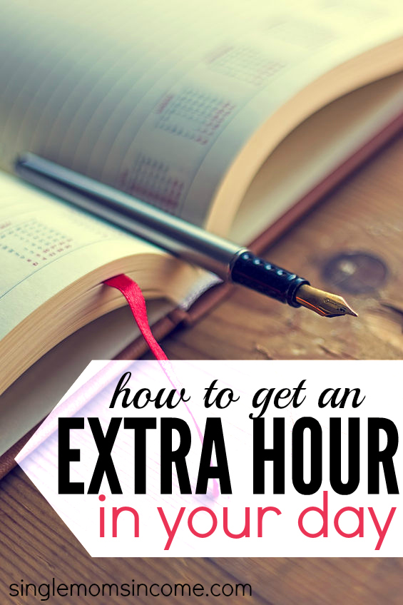 How to Get Back an Extra Hour in Your Day