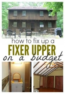 How We're Fixing Up a Fixer Upper on a Budget