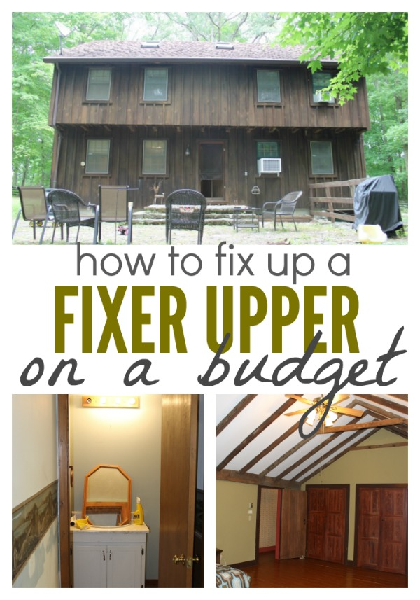 How we 39 re fixing up a fixer upper on a budget single - Buying a fixer upper ...