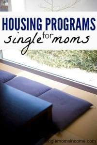 Life as a single mom is tough enough as is. If you're struggling to afford a place to live here's some government assistance housing help for single moms.
