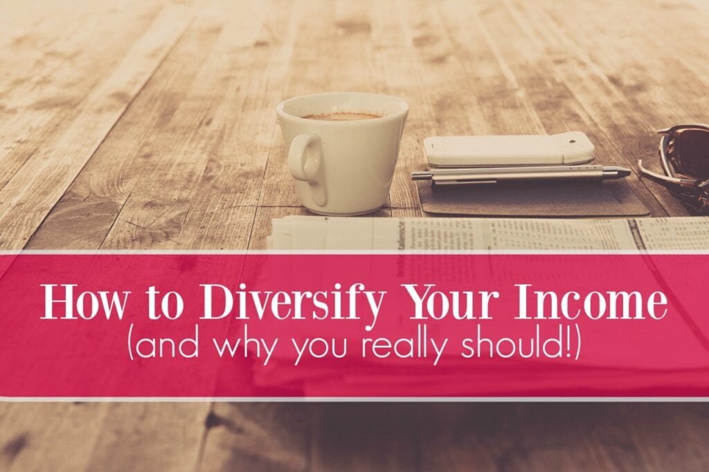 """You've heard it before - """"don't put all your eggs in one basket."""" Here are four smart tips for creating a diversified income."""