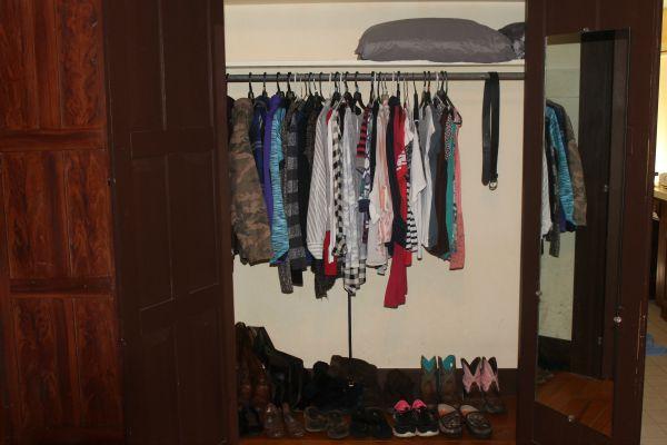 frugal closet