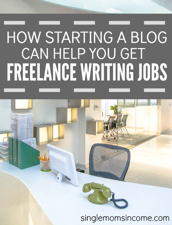 If you want to get freelance writing jobs one way to do it is to start a blog. Here's the story of how my mom landed freelance writing job without even trying, thanks to her new blog.