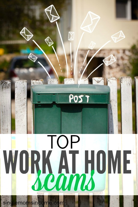 While there are a ton of ways to make a good, honest income online there's also a whole lot of ways to get ripped off. Here are the top work at home scams to watch out for.