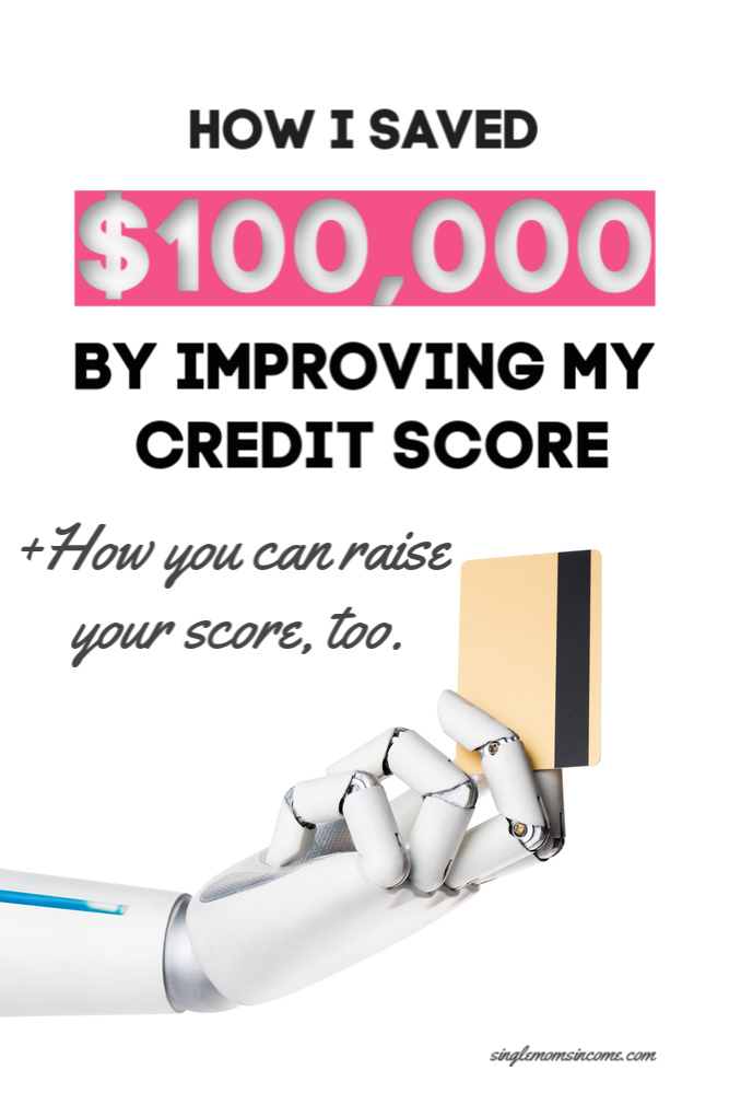 Yes, improving my credit score really saved me over $100,000. Here's how.