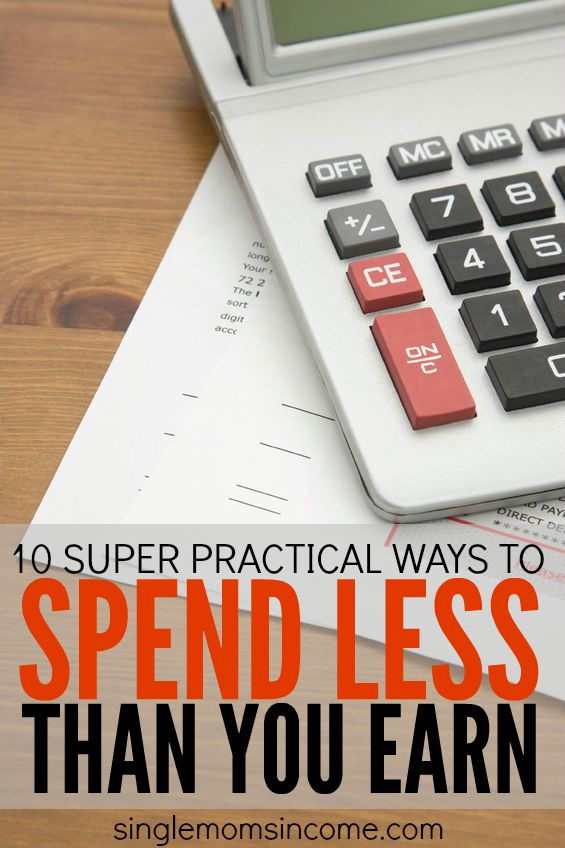 If you want to be financially stable you have to spend less than you earn. Here are ten tips to help get you there. (No coupon clipping required!)