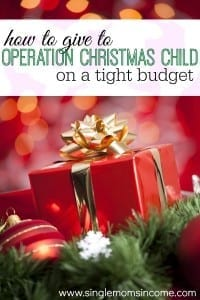 Are you looking for an easy way to give back this Christmas? Operation Christmas Child is a great way for you to change the lives of needy children all around the world. Here's how my family wa