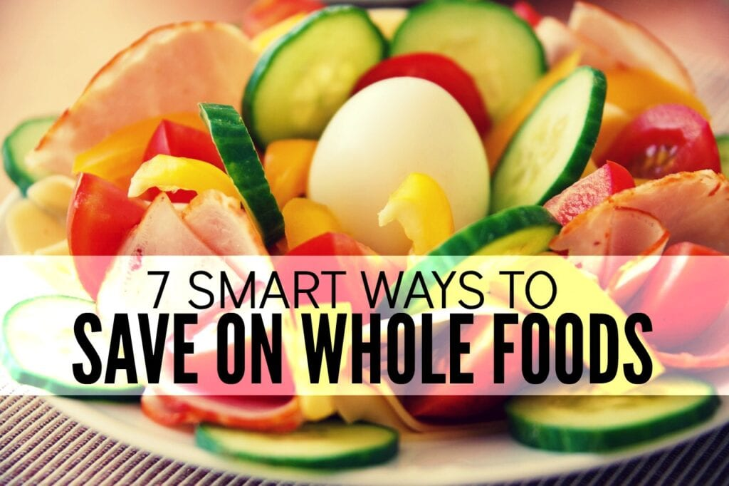 When you switch to eating only whole foods your grocery bill can can get out of control fast. Here are seven ways to save money on whole foods that have helped me the most.