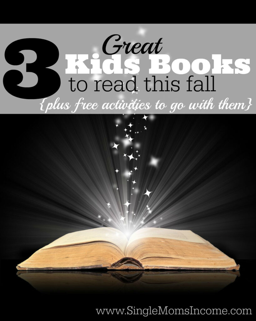 Here are three great children's books to read this fall plus fun and free activities to go with them. My kids absolutely loved these! Especially the activity that went with book number two.
