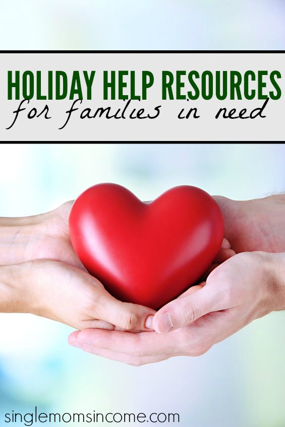There is plenty holiday help for families in need during this time of year and you owe it to yourself to explore all of your options and have a stress free and happy holiday season.