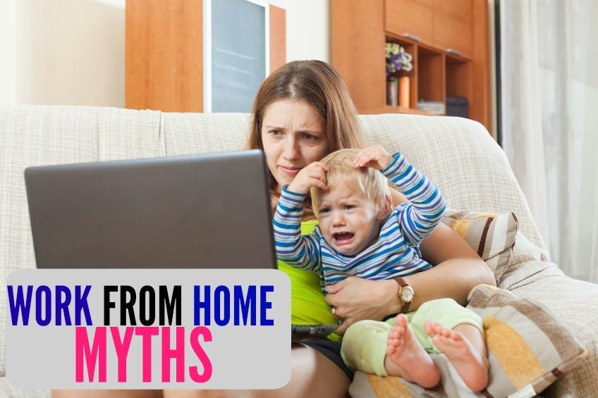 The media likes to portray working from home in a very unrealistic way. Here's six work from home myths written by someone who works from home! If you want the full picture you need to read this.